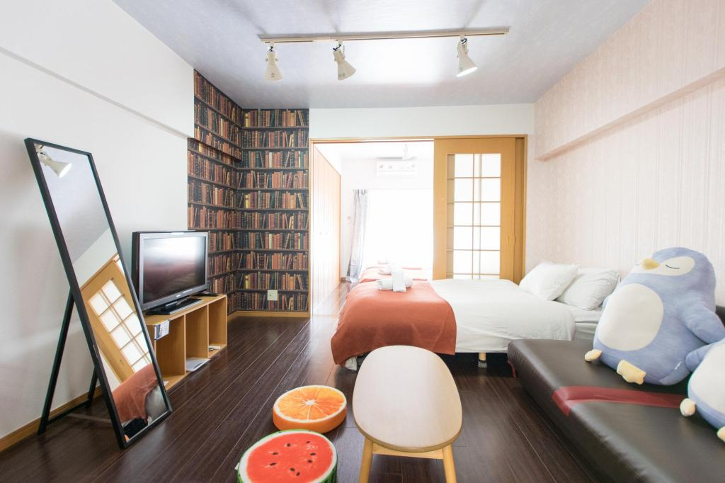 Interior view 7mins to Shibuya station/Romantic Room / Room No6