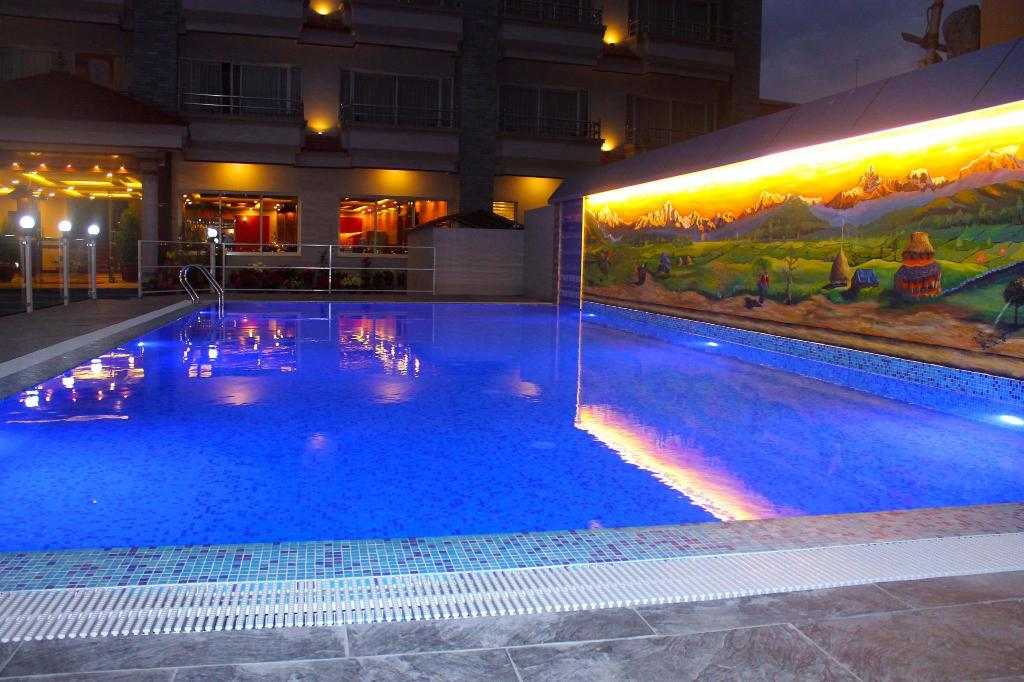 Swimming pool [outdoor] Hotel Iceland