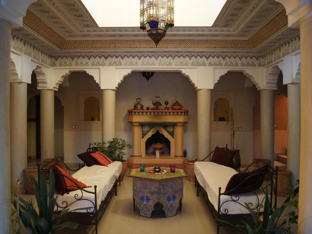 Interior view Kasbah Chwiter Hotel