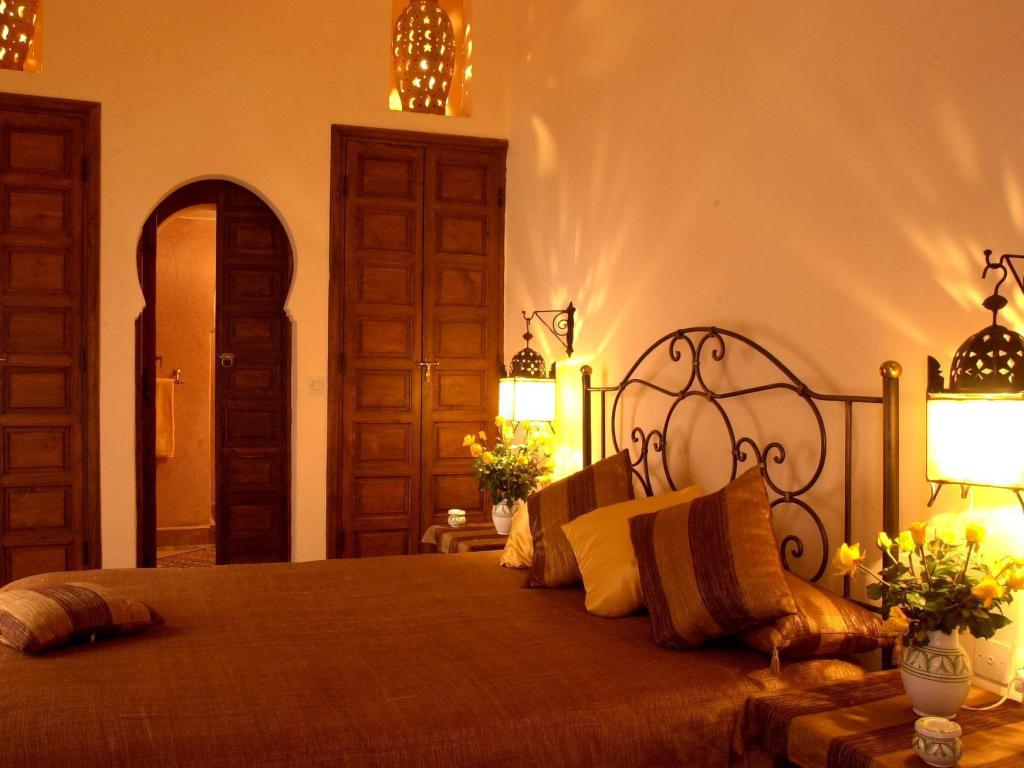 Standard Double Room - Bed Riad Amina