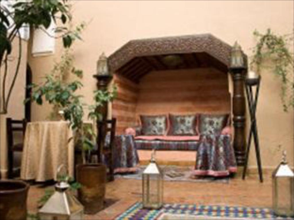 Interior view Riad-Assala