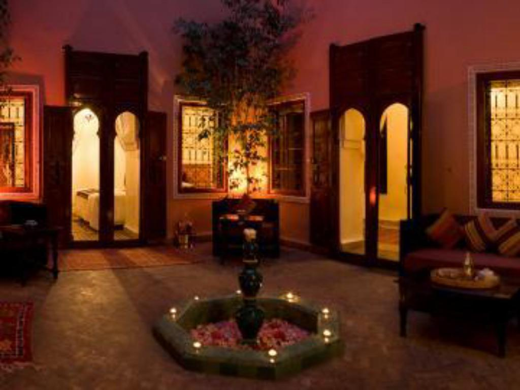 Entrance Riad Tizgui