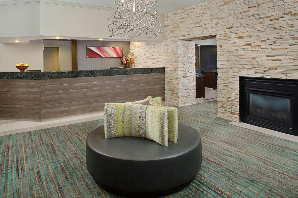 Lobby Residence Inn Gaithersburg Washingtonian Center