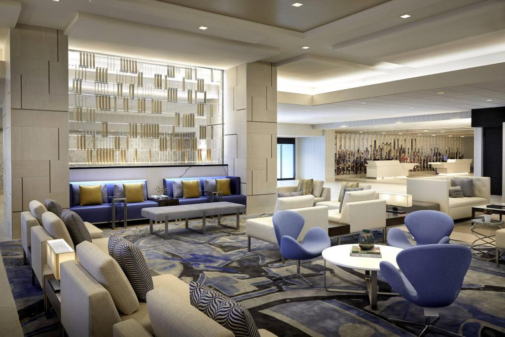 Hành lang Los Angeles Airport Marriott
