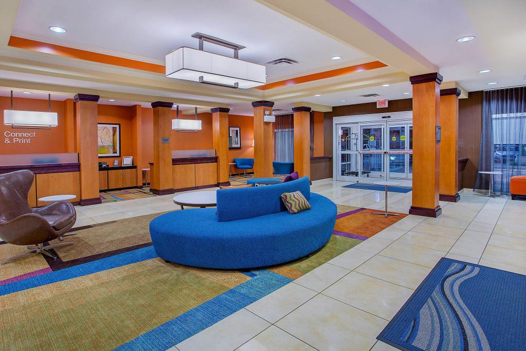 Hành lang Fairfield Inn & Suites Cookeville