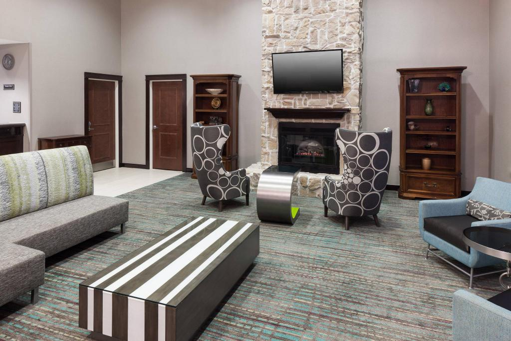 Lobby Residence Inn Beaumont