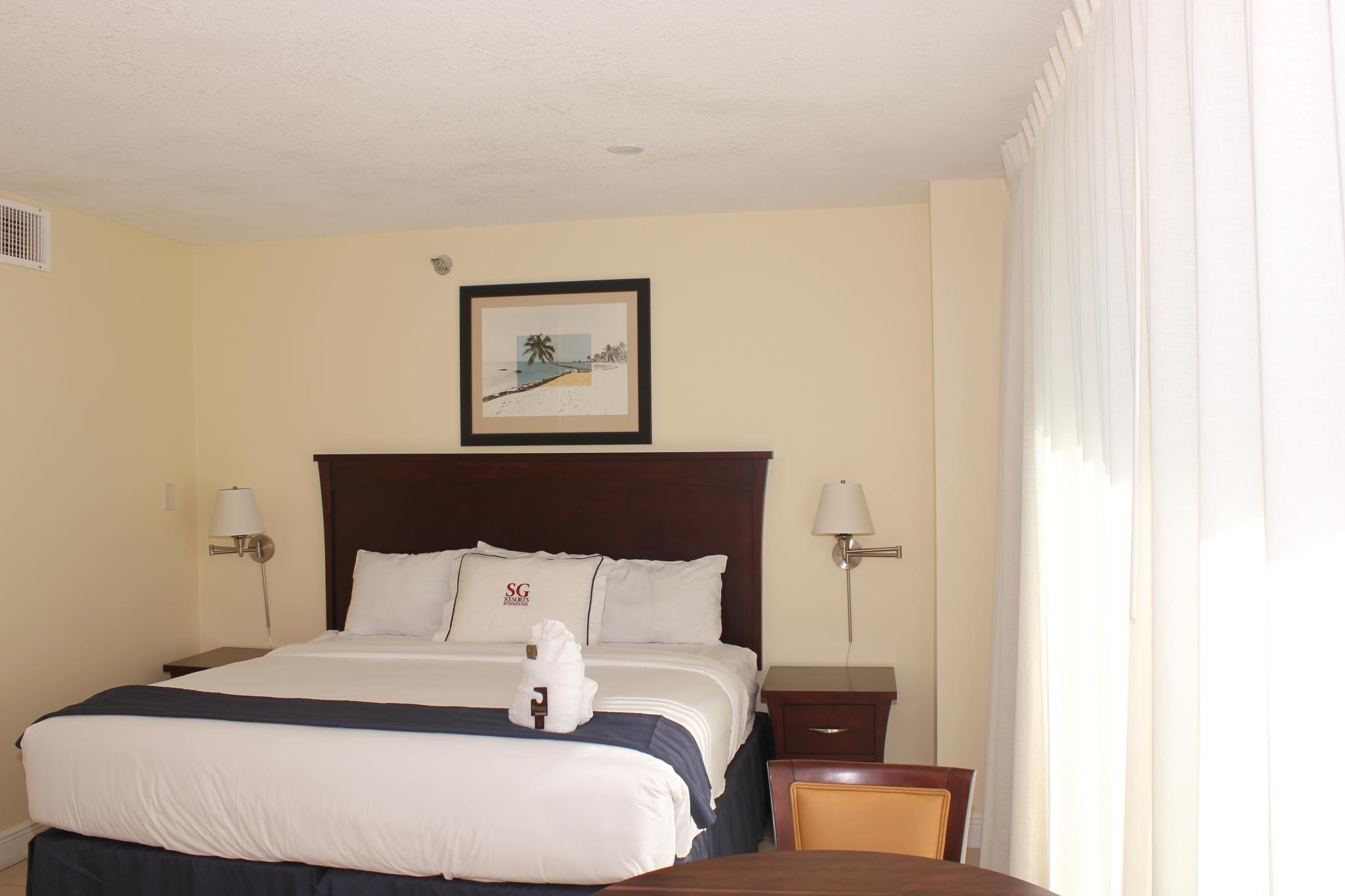 Standard Room, 2 double beds, Bay View