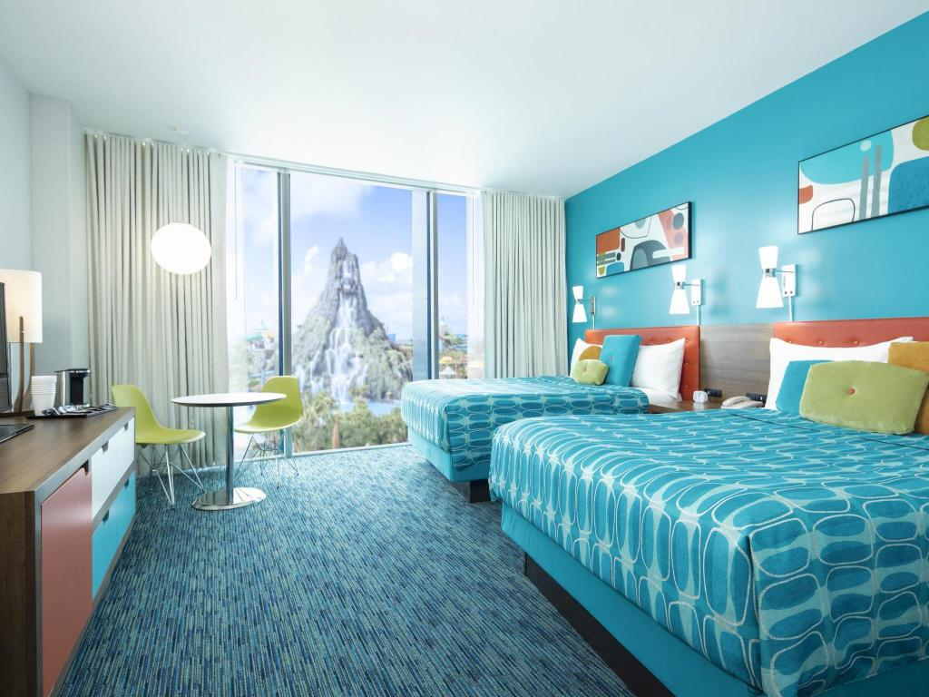 Universal's Cabana Bay Beach Resort in Orlando