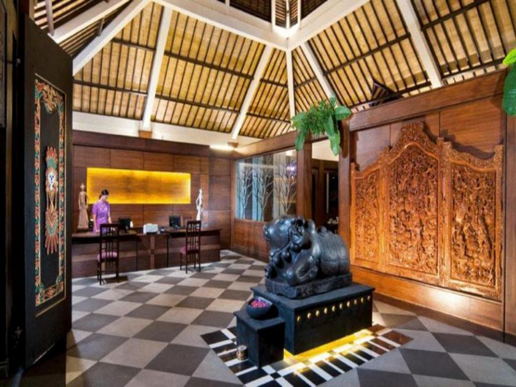 Tampilan interior The Ayu Kintamani Villa at Toya Devasya