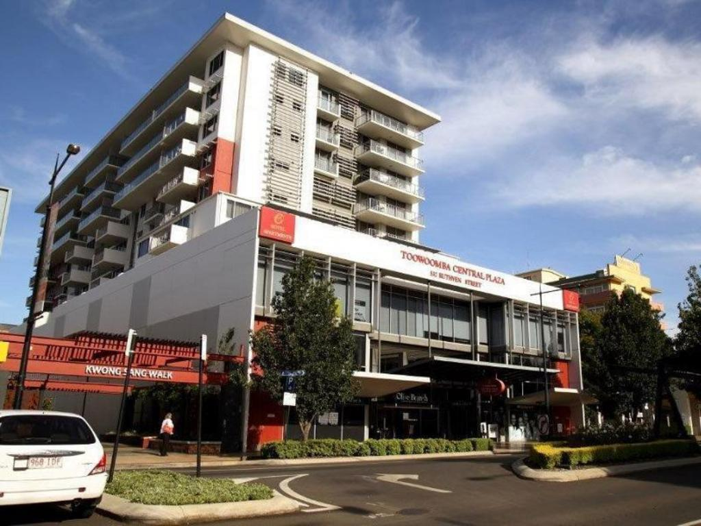 شقة فندقية توومبا سنترال بلاز (Toowoomba Central Plaza Apartment Hotel)