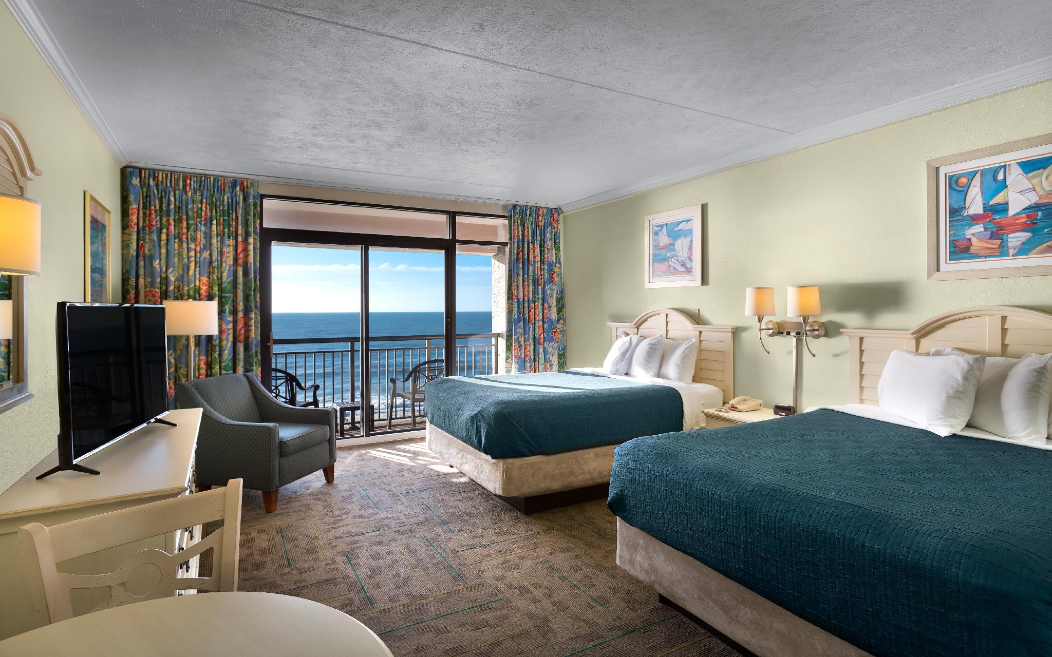Queen Room with Two Queen Beds - Ocean Front