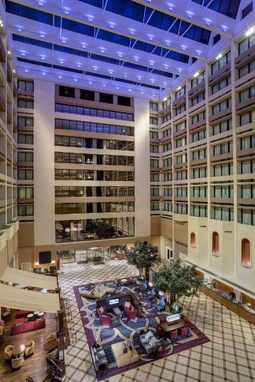 Lobby Houston Marriott Westchase