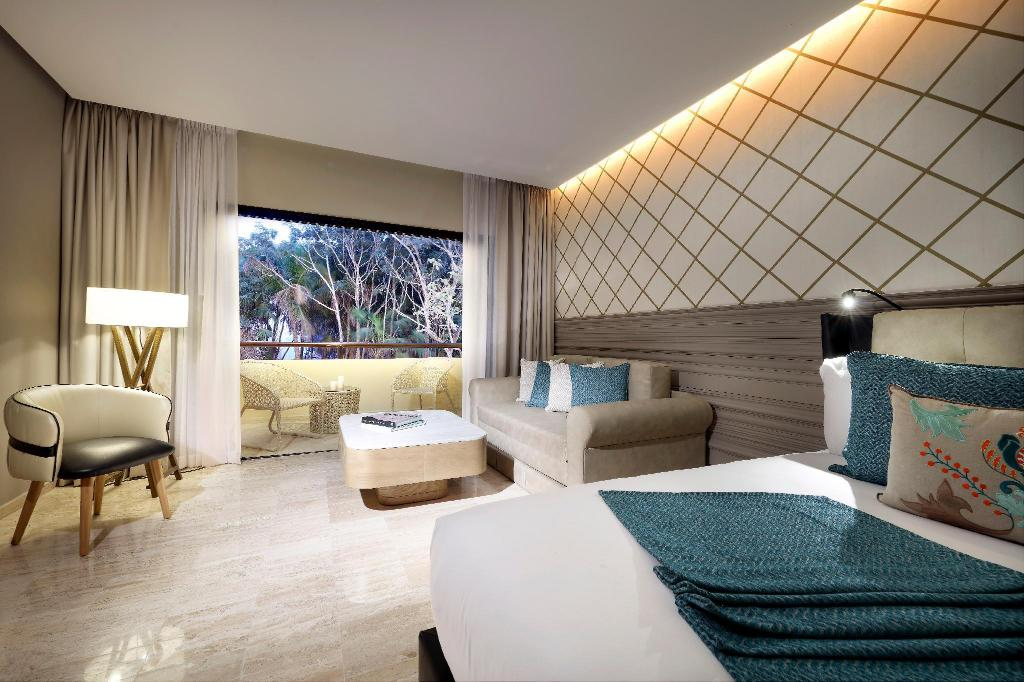 Junior Suite - Bedroom TRS Yucatan Hotel - Adults Only - All Inclusive