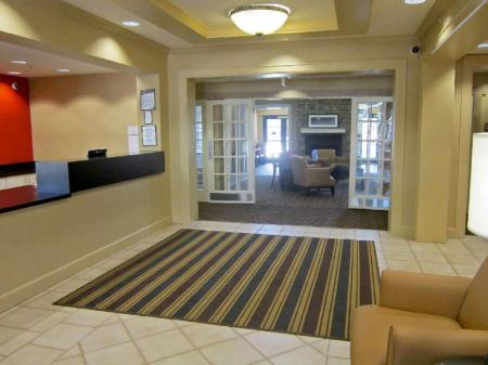 Empfangshalle Extended Stay America Fayetteville Cross Crk Mall