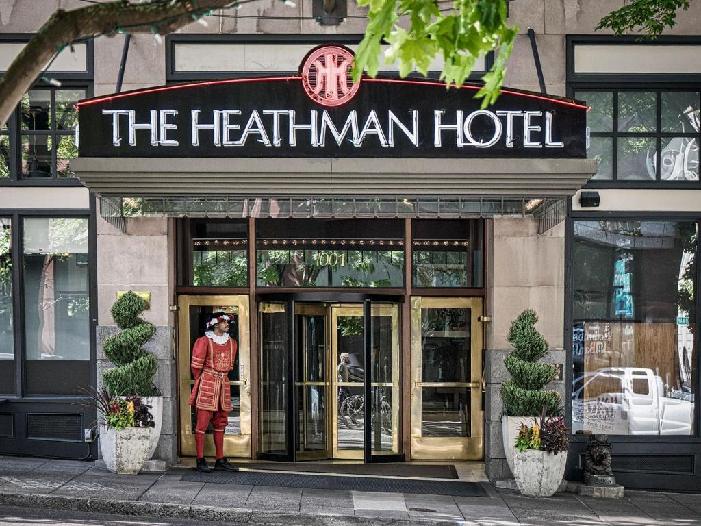 The Heathman Hotel im Detail