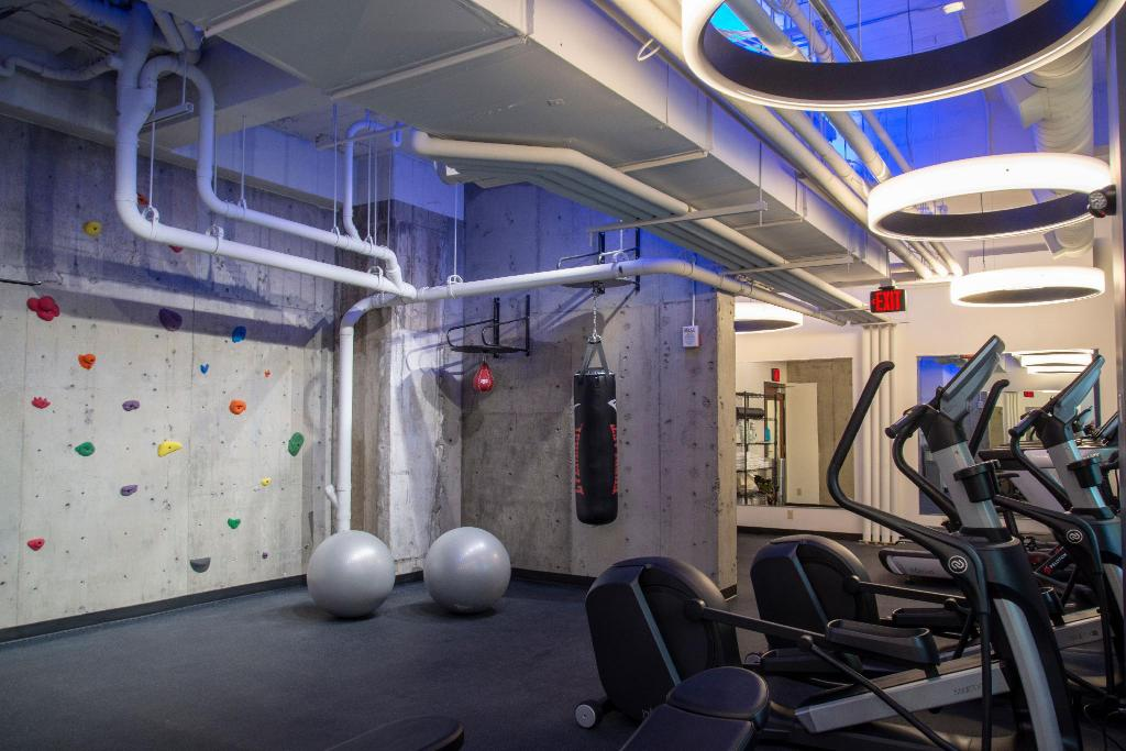 Fitnesscenter The Heathman Hotel