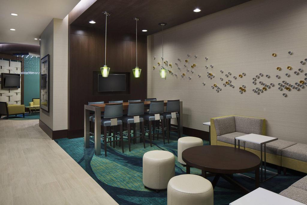 Lobby SpringHill Suites Houston Downtown/Convention Center