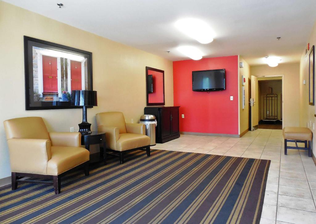 Лобби Extended Stay America - Atlanta - Alpharetta - Northpoint - East