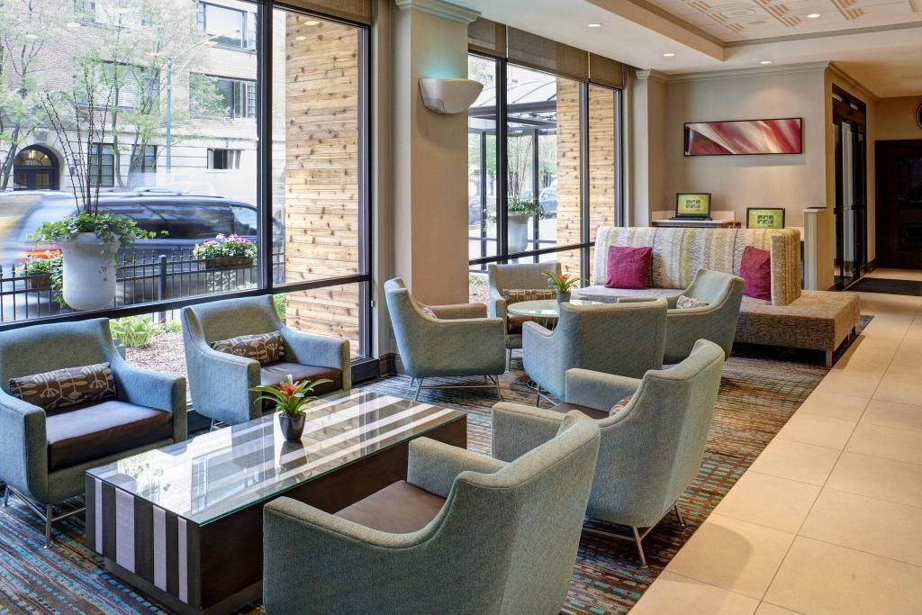 Lobi Residence Inn Chicago Downtown/Magnificent Mile