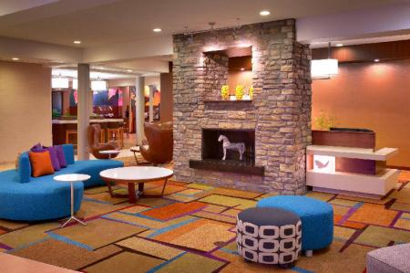 Lobby Fairfield Inn & Suites Salt Lake City Downtown