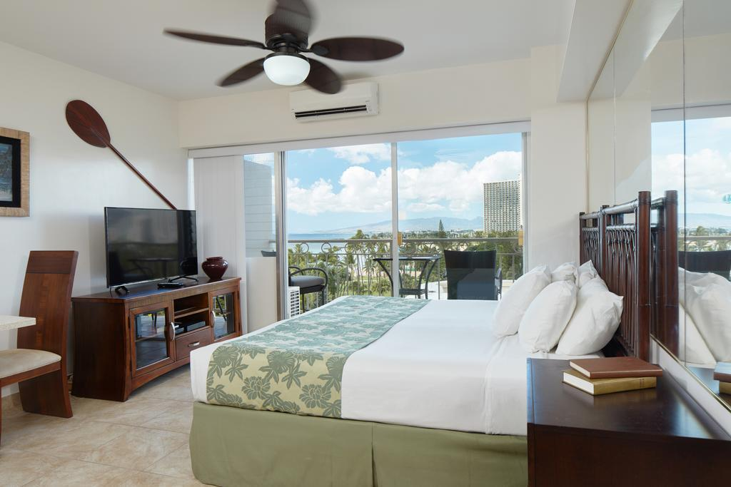Studio Ocean View - Bed Waikiki Shore by Outrigger