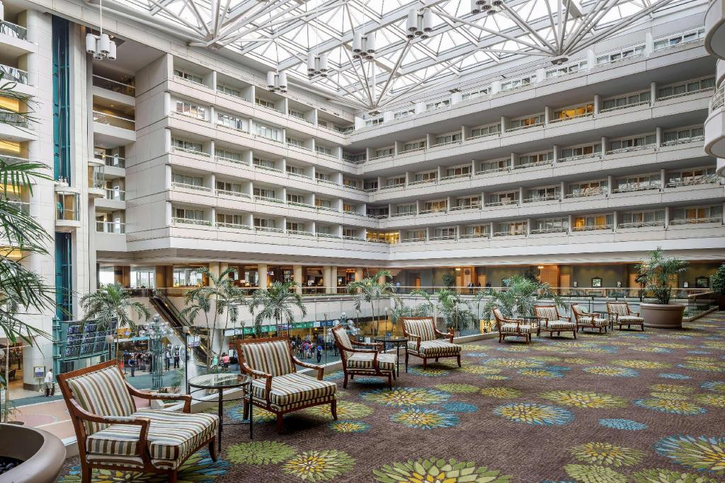 Interior view Hyatt Regency Orlando International Airport