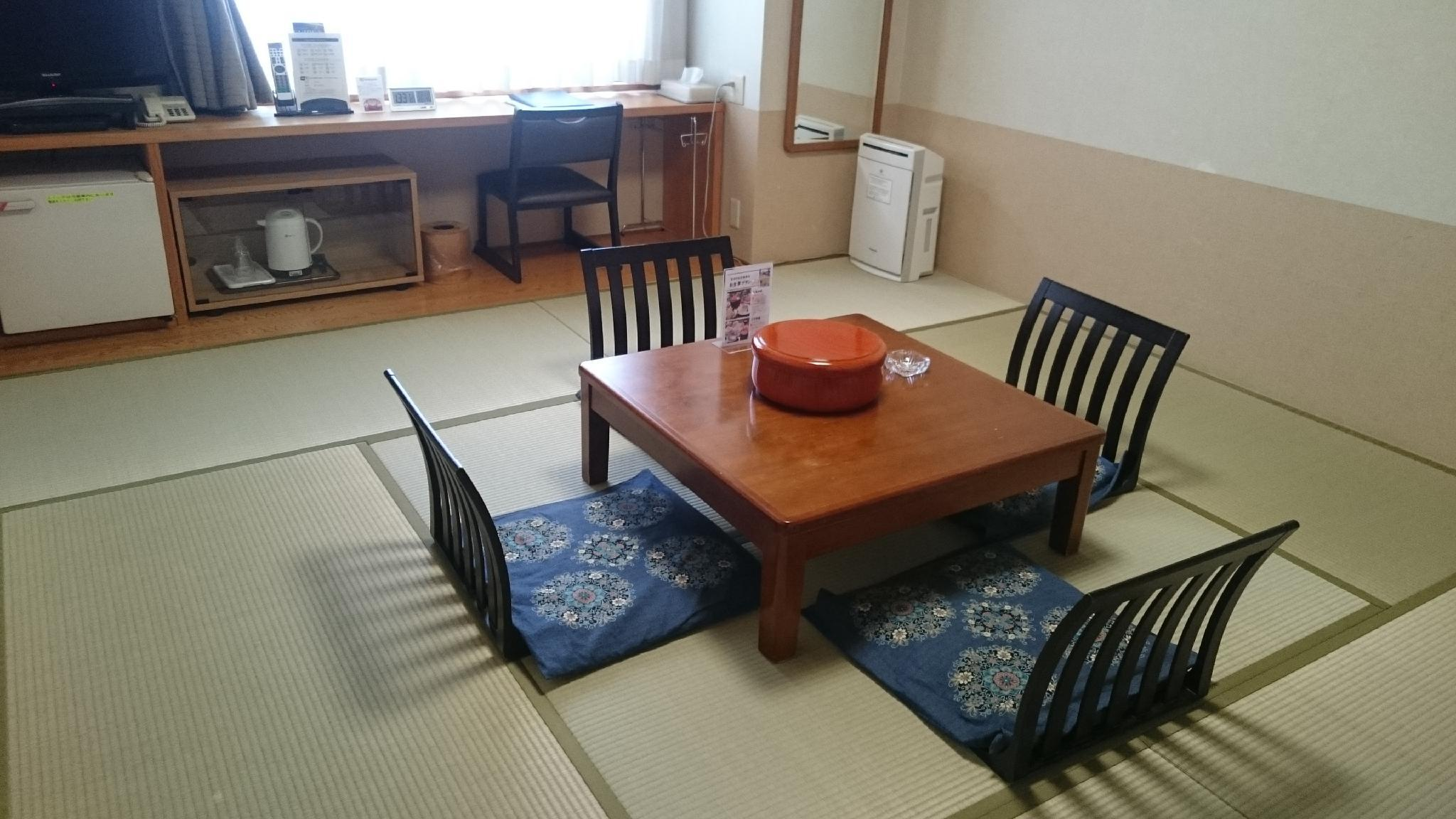 和室(4名・禁煙) (Japanese Style Room for 4 People - Non-Smoking)