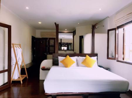 Deluxe Suite Room - Room plan Ancient Luang Prabang Hotel (Ban Phonheuang)