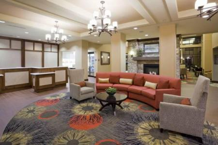 Lobby Homewood Suites by Hilton Minneapolis/St. Louis Park