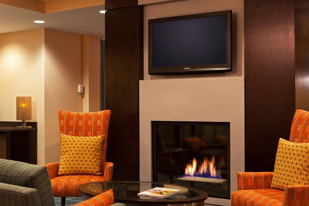 Lobi SpringHill Suites Tarrytown Westchester County