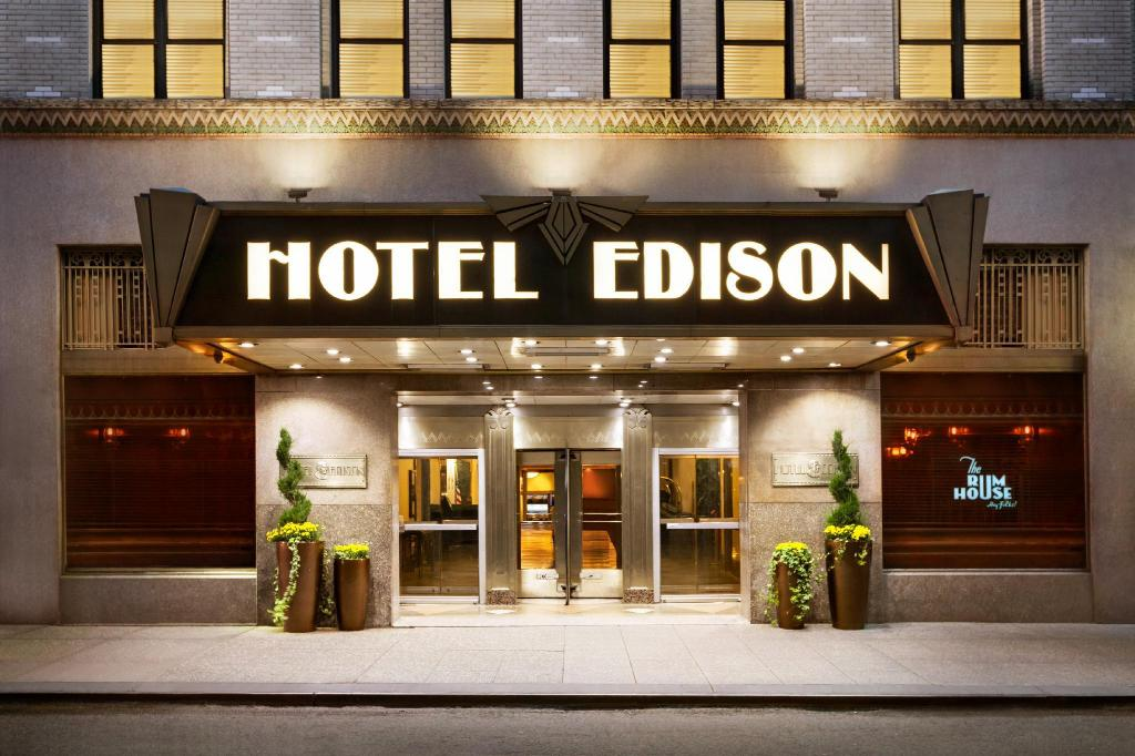More about Hotel Edison