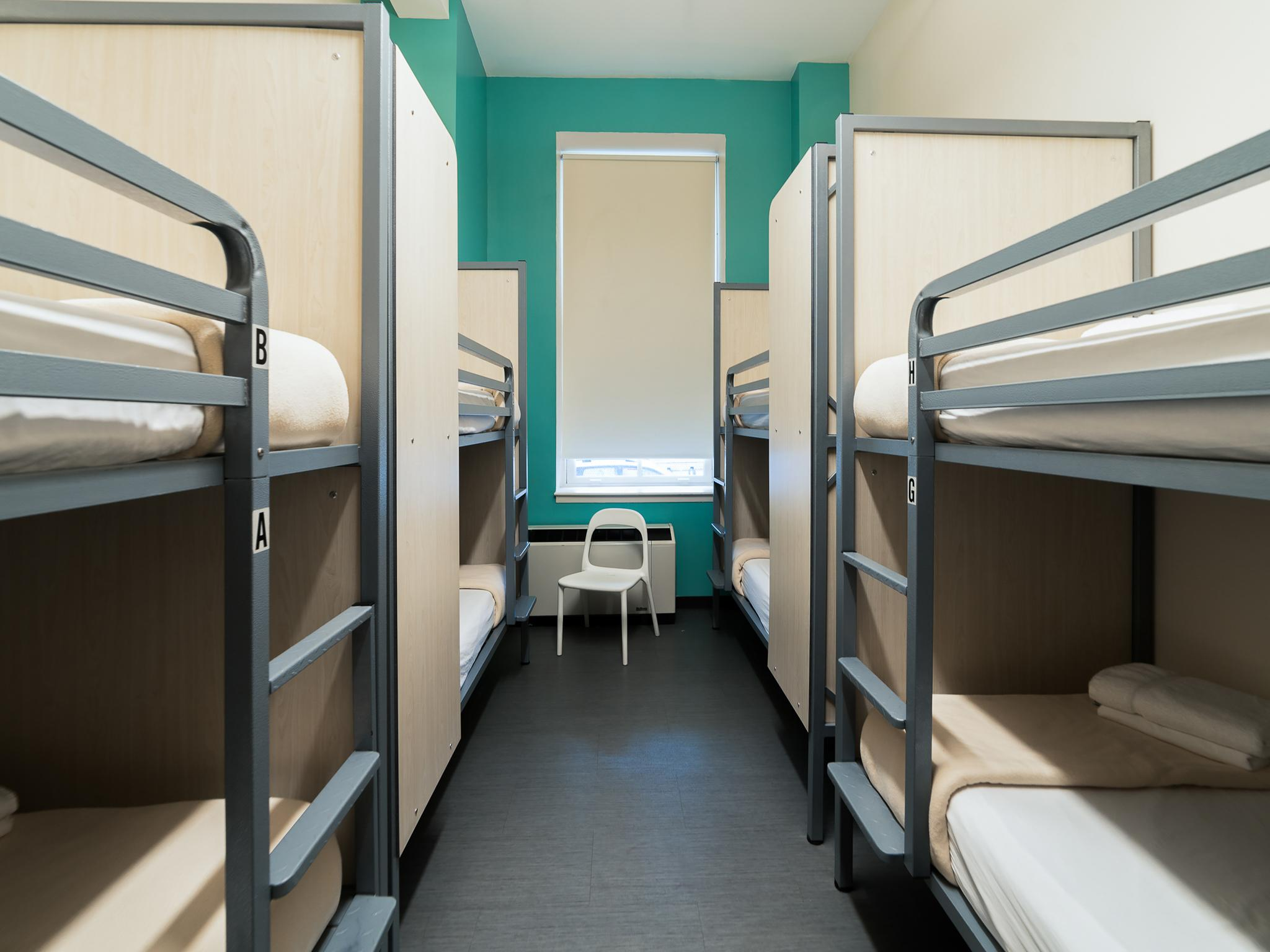 Mixed Dormitory - 8 Bunk Beds