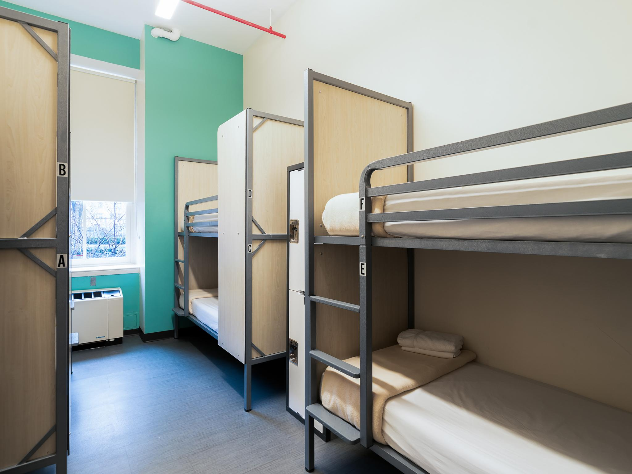 Mixed Dormitory - 6 Bunk Beds