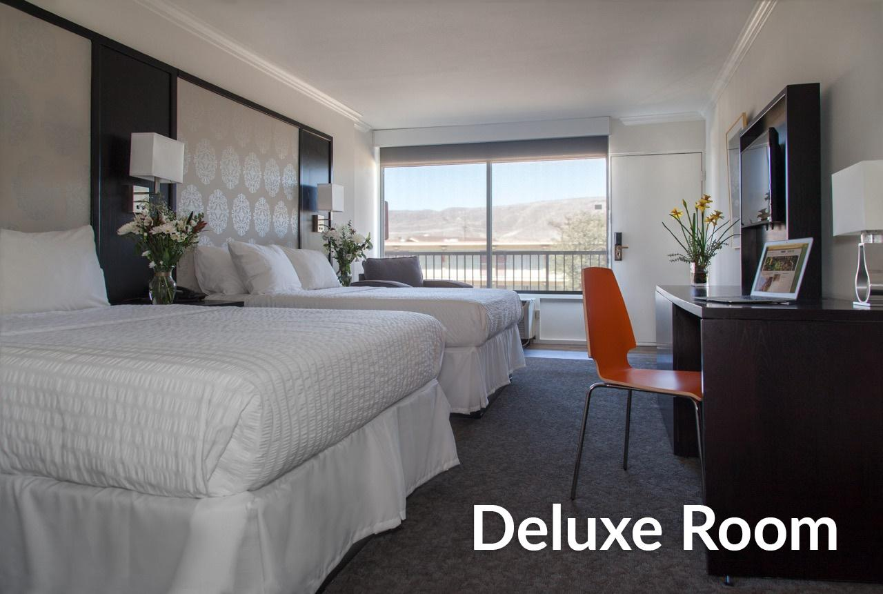 Deluxe Room with Two Double Beds - No ParkNFly
