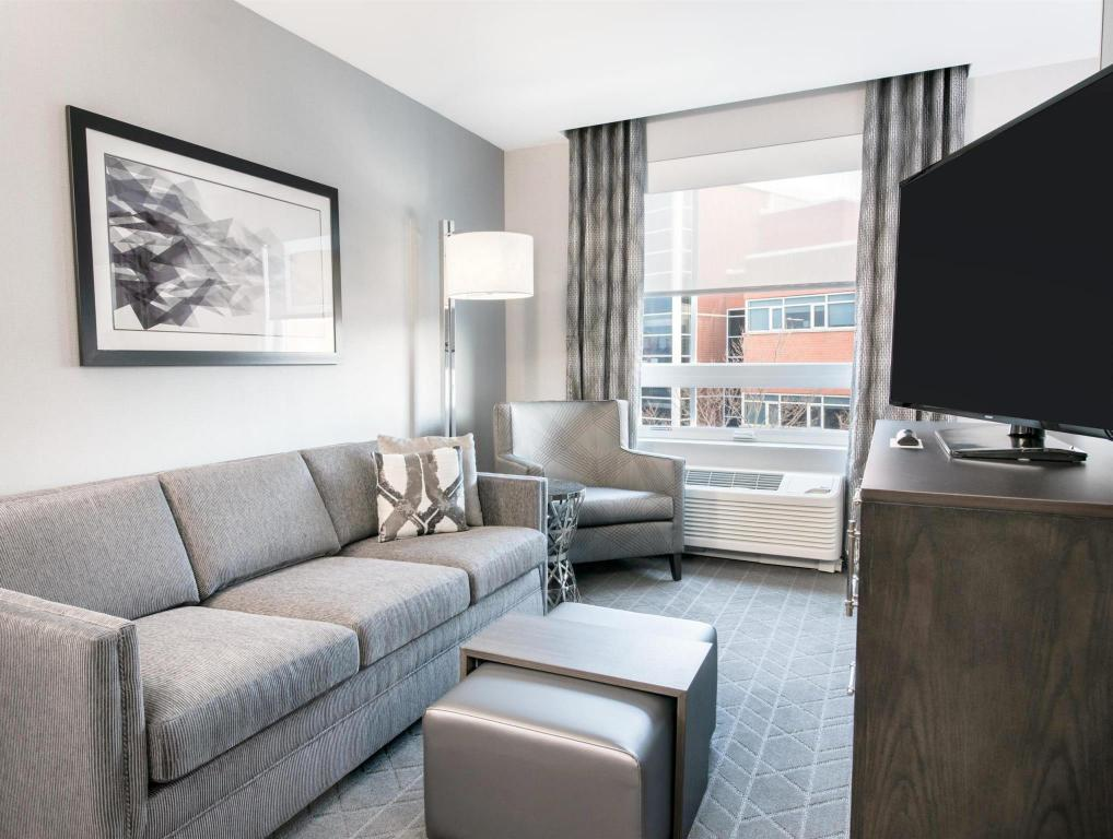 Vista interior Homewood Suites by Hilton Boston Logan Airport Chelsea