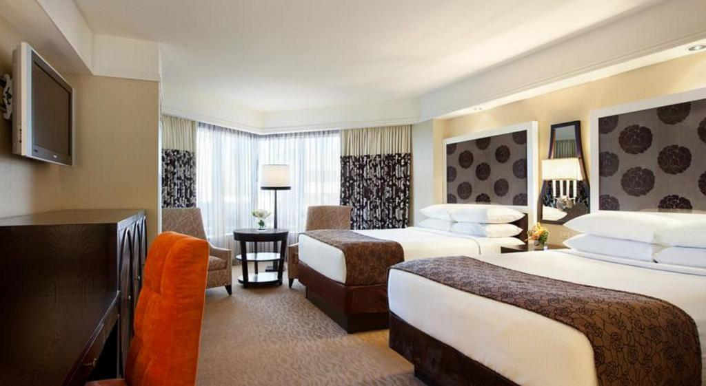 Quarto de Luxo com 2 camas Queen-size - Fumadores Harveys Lake Tahoe Hotel & Casino