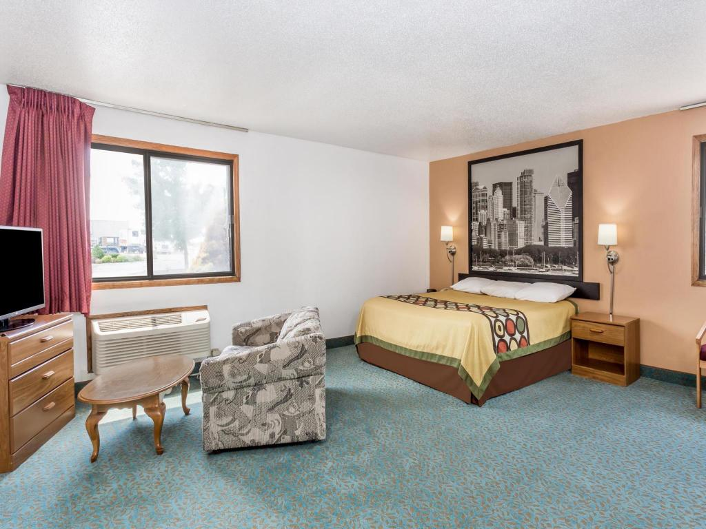 Hotellet indefra Super 8 by Wyndham Bourbonnais/Kankakee Area