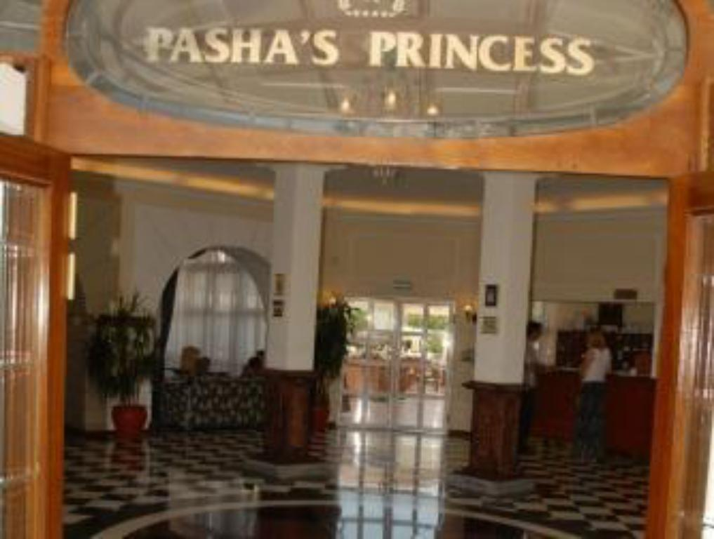 Empfangshalle Pasha's Princess Hotel - Adult Only