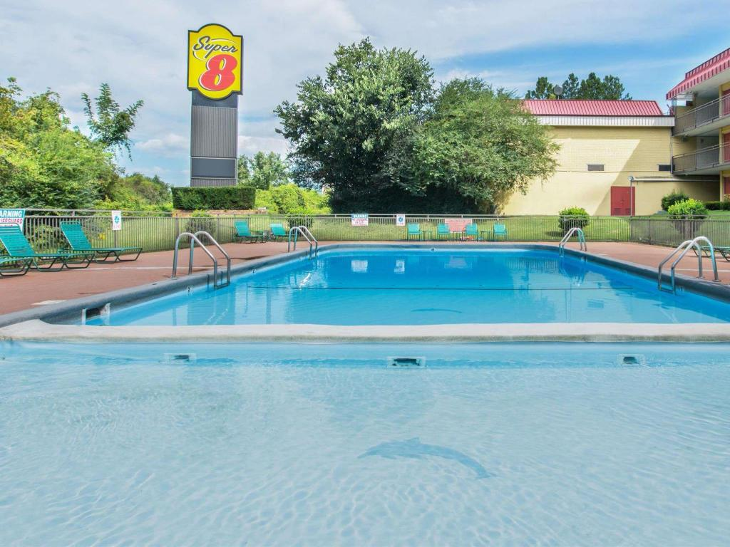 Swimmingpool Super 8 by Wyndham Caryville TN