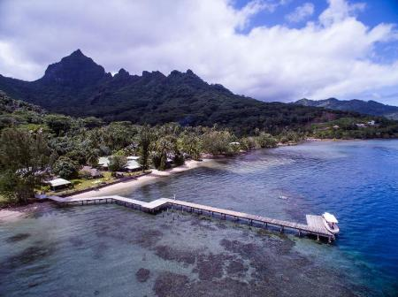 Exterior view Linareva Moorea Beach Resort