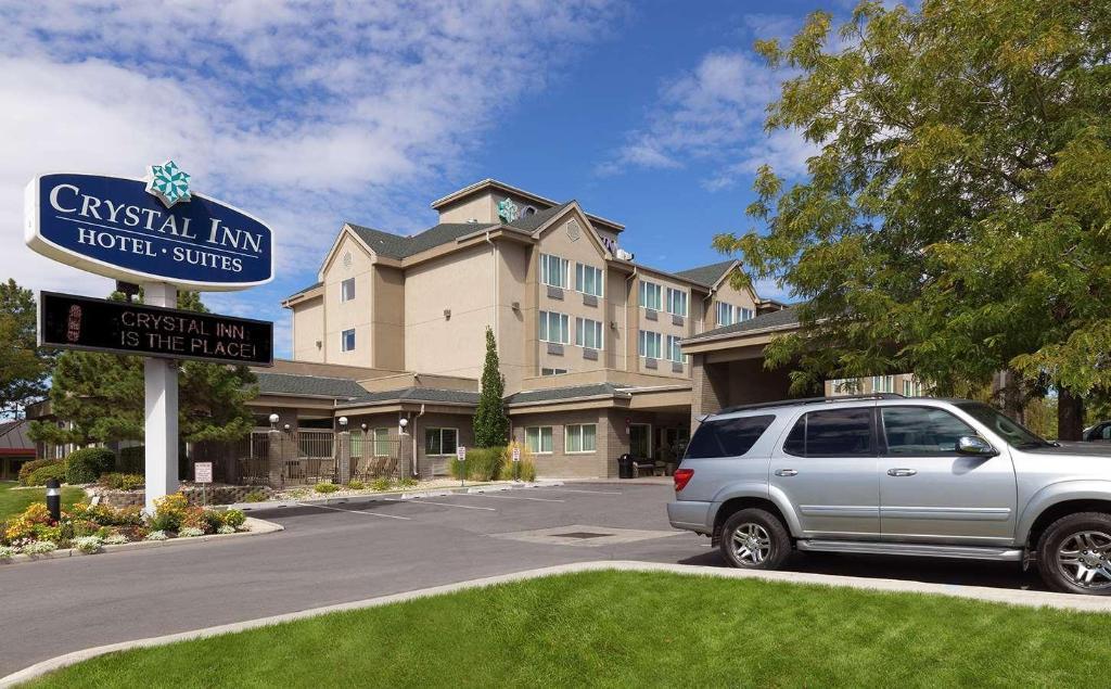 crystal inn hotel suites salt lake city in salt lake. Black Bedroom Furniture Sets. Home Design Ideas
