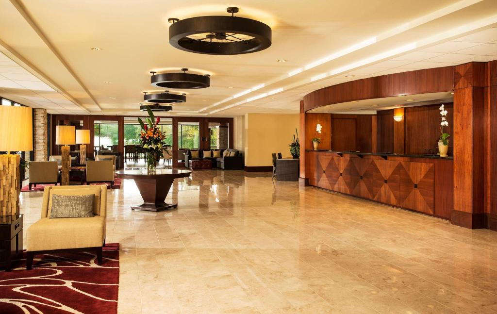Lobby The Woodlands Resort