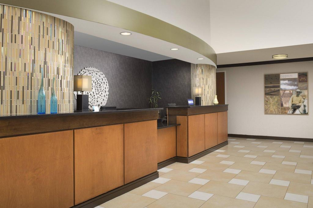Vestíbulo Fairfield Inn & Suites Miami Airport South