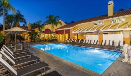 Swimming pool [outdoor] Clementine Hotel & Suites Anaheim