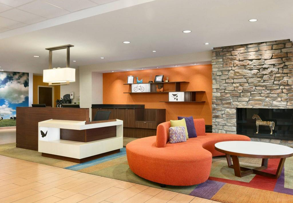 Lobby Fairfield Inn & Suites Smithfield Selma/I-95