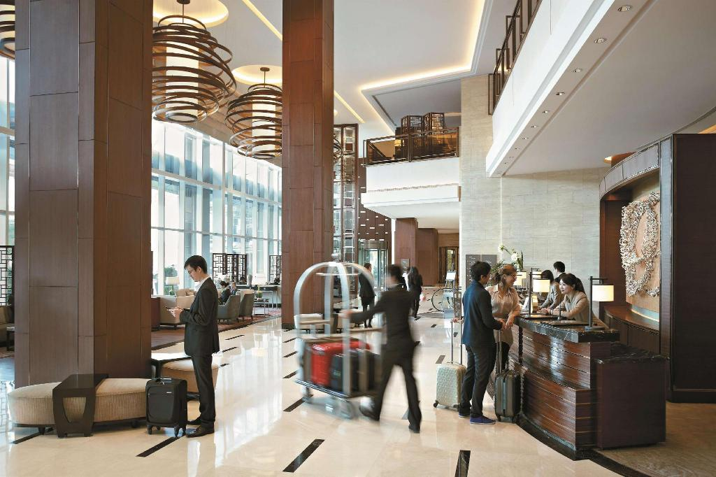 Lobby Kerry Hotel Pudong