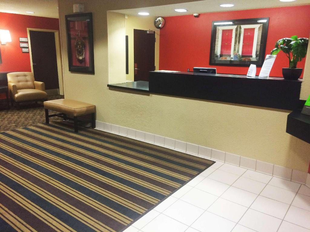 Lobby Extended Stay America Mt Laurel Crawford Pll