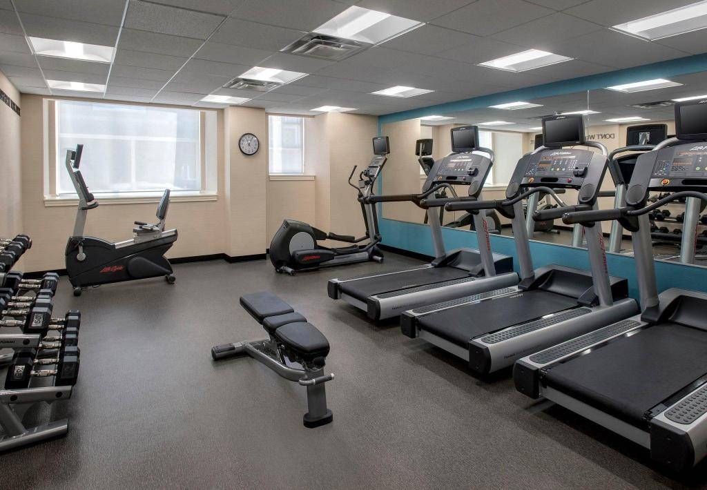 Centro de fitness Fairfield Inn & Suites Baltimore Downtown/Inner Harbor