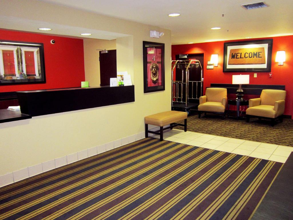 Lobby Extended Stay America Livermore-Airway Blvd
