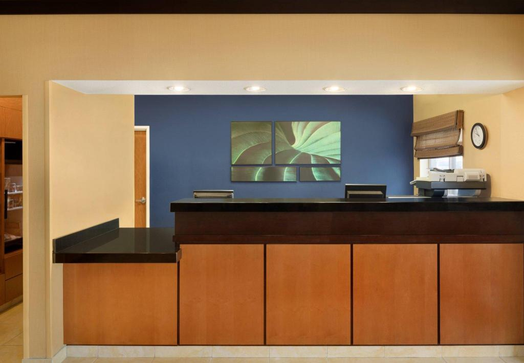 Lobi Fairfield Inn & Suites Champaign